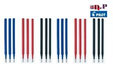 Pilot FriXion Erasable Pen REFILLS- ink BLS-FR5 0.5mm Black & Blue & Red