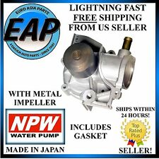 For Subaru Impreza Legacy Outback 2.5 Forester Japanese NPW Water Pump NEW