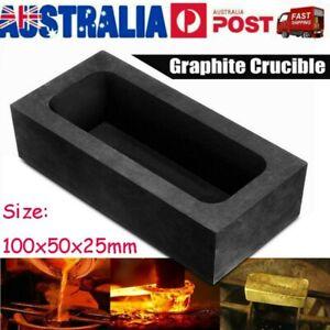 Graphite Cuvette Graphite Crucible Mould Easy Demoulding Gold Ag Ingot Casting