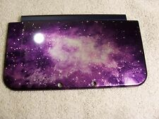 2015 New 3DS XL Replacement Part Purple Galaxy  Top Outside Cover Shell/Housing