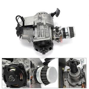 49cc 2 Hub Pull Start Motor Engine Motor Luftgekühlt für Pocket Bike ATV Roller