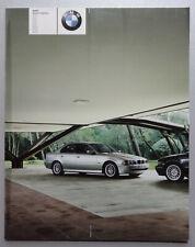 V24363 BMW SERIE 5 SEDAN - CATALOGUE - 02/01 - 23x29 - FR