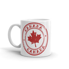 Canada Feuille Tasse-Cadeau Banff Vancouver Toronto Montréal Whistler Jasper #4539