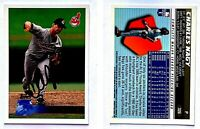 Charles Nagy Signed 1996 Topps #326 Card Cleveland Indians Auto Autograph