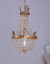 Chandelier Gold Brass Bronze Crystal Ceiling Light New