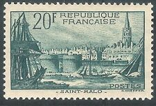 France1938 Pictorial Designs green St Malo 20f mint SG601