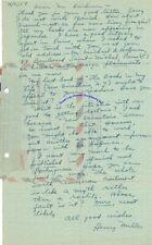 Henry Miller handwritten letter re foreign publications in Spanish & Portuguese