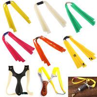 3X accessory catapult latex tape rubber flat elastic band for slingshot*H