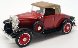 Unbranded  14cm Long Model Car SS-C5070 - 1931 Chevrolet Sport Cabriolet - Red