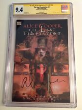 CGC 9.4 SS The Last Temptation #2 signed by rock star Alice Cooper not 9.8