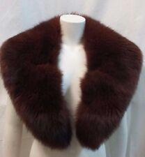 collo stola scialle donna pelliccia volpe lunghezza cm 126 larghezza max cm 16