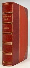 HILLINGDON HALL1888 SURTEES 1st ILLUSTRATED EDITION FINE RED LEATHER BINDING