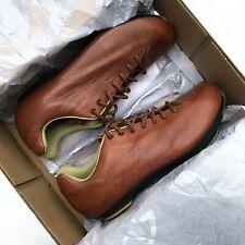 New Giro Republic LX Brown Sepia Leather Men's Cycling Shoes EU40 / US 7.5