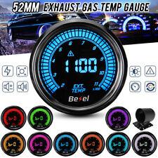 EGT indicatore della temperatura Rosso con sensore di temperatura EXHAUST Temperature Sensor