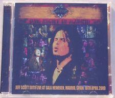 Jeff Scott SOTO  : One night in Madrid