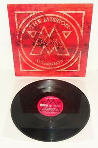 "THE MISSION AFTERGLOW 1994 VERTIGO 4-track maxi-single 12"" UK 1st PRESS with P/S"
