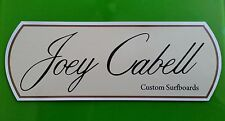New listing Joey Cabell Surfboards Vintage / Retro Decal / Sticker 1960'S Surfing Australia
