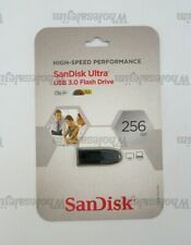 SanDisk 256 GB High-Speed Performance Ultra USB 3.0 Flash Drive New in Packaging