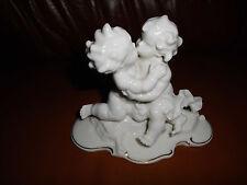 Zwei küssende Putti Putten Hutschenreuther  Porzellan Figur  Karl Tutter