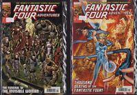 Marvel Comics - Fantastic Four Adventures - #9 #10  Bundle  2010   c2.427