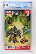 All-New Marvel Now! Point One #1 - Marvel 2014 CGC 9.8 Salvador Larroca cover. 1