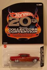 2006 Hot Wheels 20th Convention '55 Chevy Bel Air w/Real Riders Only 3000 Made