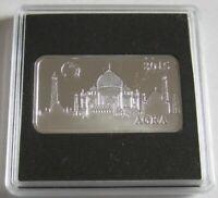 Salomonen 2 Dollars 2015 Wahrzeichen Taj Mahal in Agra 1/2 Oz Silber