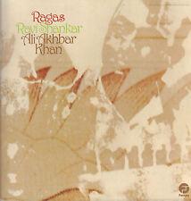 RAVI SHANKAR & ALI AKBAR KHAN - RAGAS (1973 US 2-LP COMPILATION)