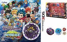 NEW 3DS Beyblade Burst God Balduur.B.B evil spirit Ver. + B-98 God Customize Set