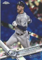 KEVIN KIERMAIER 2017 TOPPS CHROME SAPPHIRE EDITION #154 ONLY 250 MADE
