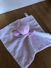 Tu Sainsburys Pink Cat Kitten Baby Comforter Soother VGC