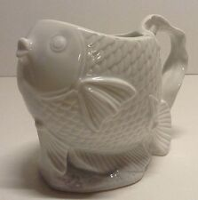 Bone China Fish Mug / Planter Millard Lister Sales Made in Japan