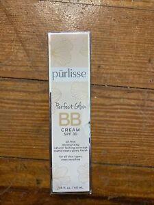 purlisse BB Tinted Moisturizer Cream SPF 30 - BB Cream for All Skin Types - Smoo