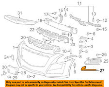 Cadillac GM OEM 08-09 CTS Front Bumper-Front Duct Right 15272168