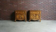 Nightstands ~ Pierre Deux Style Nightstands ~ Bedside Chests ~ A Pair