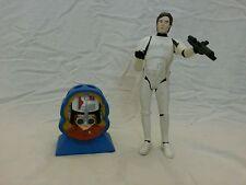 Lot of 2 Star Wars 1995 Han Solo as Stormtrooper Figure & Anakin Pencil Holder