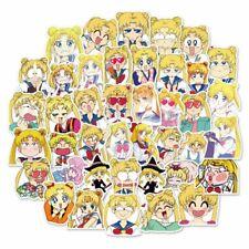 40Pcs Sailor Moon Stickers Japan Anime Character Printed Scrapbooking Crafts DIY