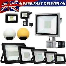 More details for led floodlight 100w 50w 30w 20w 10w outdoor garden security flood light 12v 220v