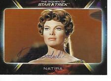 """KATE WOODVILLE SIGNED 2010 """"WOMEN OF STAR TREK"""" #26 - NATIRA"""