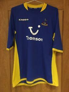 Tottenham shirt 2005 / 06 kappa men's away Jersey blue yellow