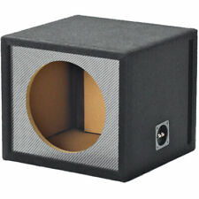"Atrend 10SVNC Single 10"" Vented Carbon Fiber Enclosure for Alpine Subwoofers"