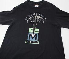 25c597e435b Vintage 1991 Queensryche Building Empires Tour Shirt Heavy Metal