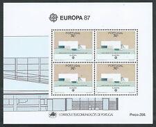1987 EUROPA PORTOGALLO FOGLIETTO MNH ** - B