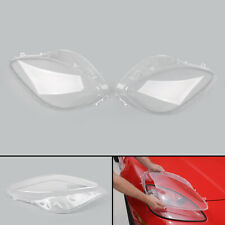 Pair Left&Right Head Light Lenses Replacement Covers For 2005-2013 C6 Corvette