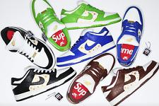 Nike SB Dunk Low Supreme Stars   Blue, Black, Red, Green   CONFIRMED ORDERS!