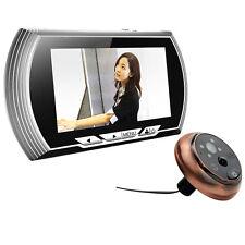4.3inch LCD Visual Monitor Door Peephole Peep Hole PIR Viewer Video IR Camera US