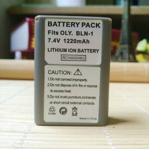 New Battery For Olympus BLN-1 OM-D E-M1, E-M5 Mark II PEN E-P5, E-M5 Mark III
