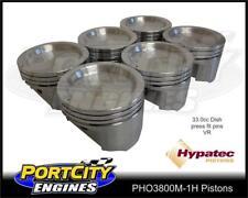 Hypatec Piston set for Holden Commodore 3.8L V6 VR 33.0cc dish PHO3800M-1H