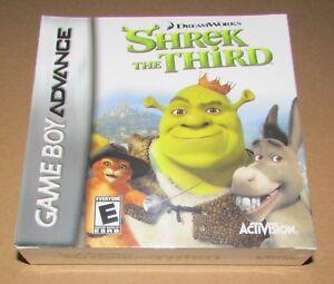 Shrek the Third (Game Boy Advance) Brand New / Fast Shipping