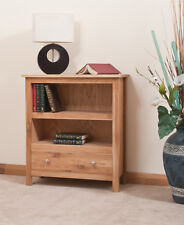 OAK BOOKCASE WITH 1 DRAWER | HANDMADE TO ORDER